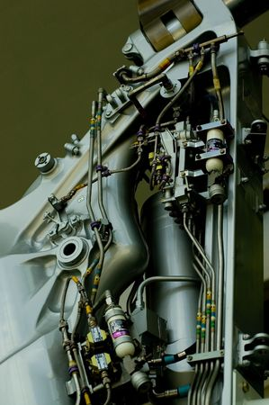 undercarriage: mechanical parts