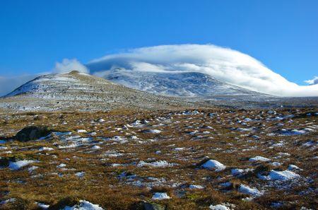 Cold Snowdonia photo