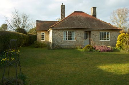 A classic english countryside bungalow photo