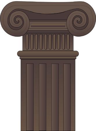roman column: Column Illustration