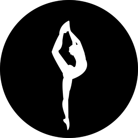 flexible woman: Ballet dancer