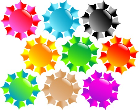 Abstract details Vector