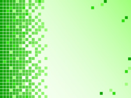 Abstract background with pixels