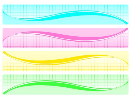graphical: Set of abstract banners