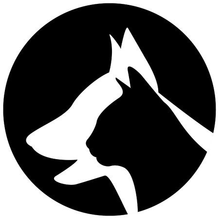 veterinarian symbol: Veterinario logo