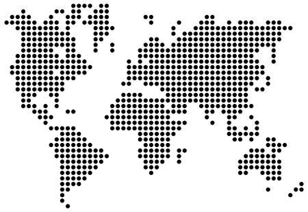 World map. Vector illustration Vector Illustration