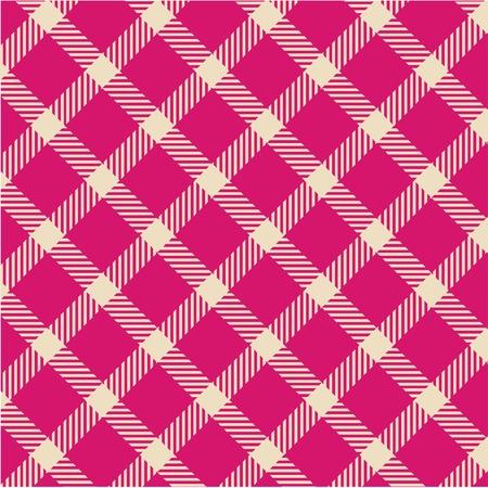 Plaid texture, vector pattern Vector