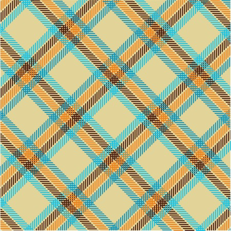 Textured tartan plaid, vector pattern