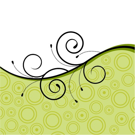 Floral background Stock Vector - 4625932