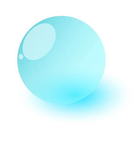 glass sphere: Esfera de cristal