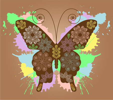 abstact: Butterfly design