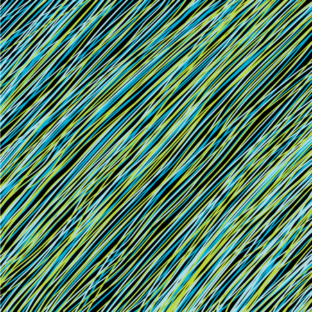 Abstract background from blue and green lines Stock Vector - 7206638