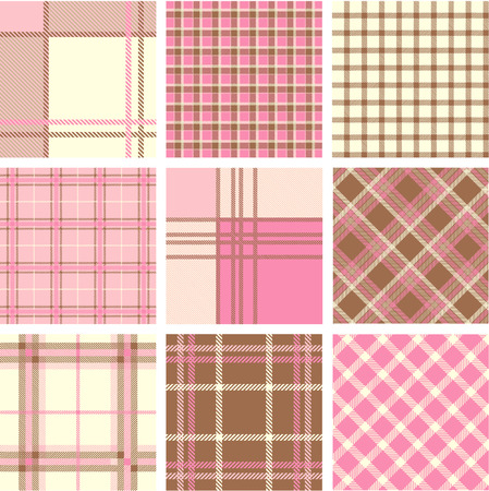 Plaid patterns Stock Vector - 7206639