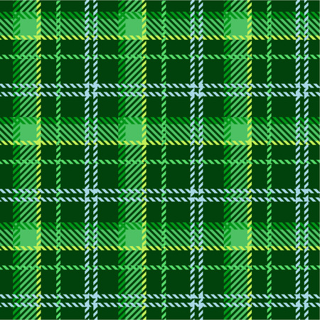 tartan: Green plaid pattern