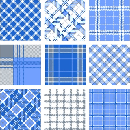 Plaid patterns Stock Vector - 9905309