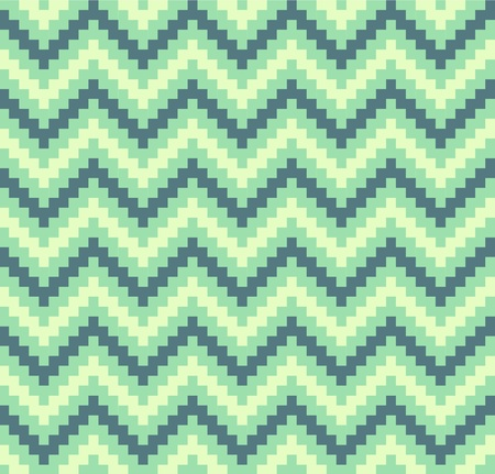mosaic pattern: Green seamless pattern Illustration