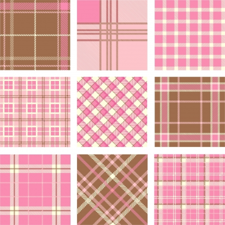 striped: Plaid patterns