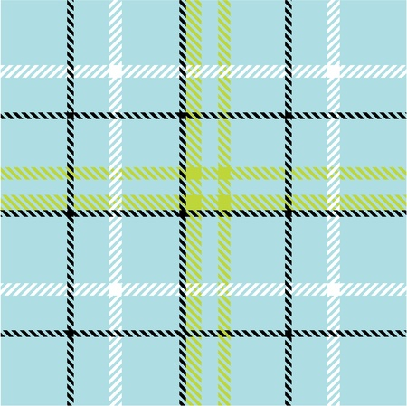 balck: Plaid pattern