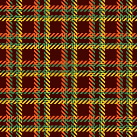 Plaid patten Vector