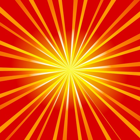 sun burst: Absract sun burst Illustration