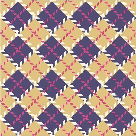 checkered scarf: Plaid pattern