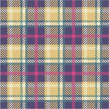 Plaid pattern Stock Vector - 10919672