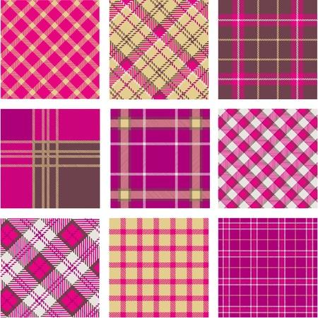 tartan plaid: Plaid patterns