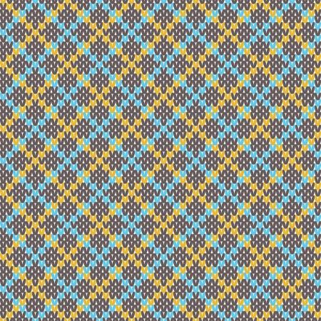 woolen fabric: La textura de punto con adornos