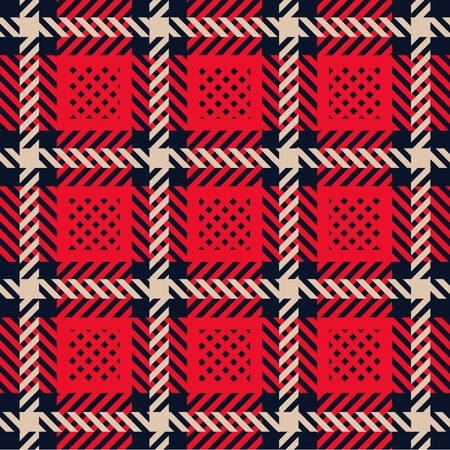 Plaid pattern Stock Vector - 13100711