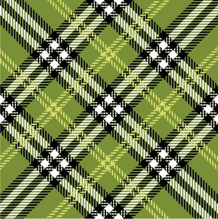 Patrón de tela escocesa Ilustración de vector