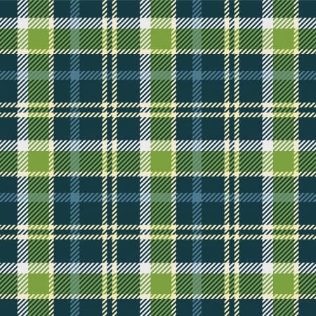Patrón de tela escocesa