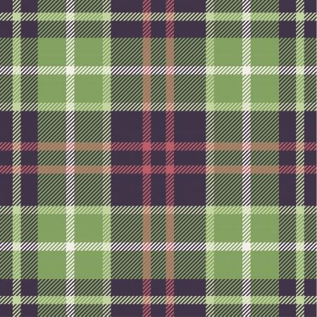 Patrón de tela escocesa en tonos de la naturaleza