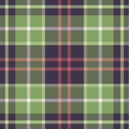 scottish: Plaid pattern in nature tones