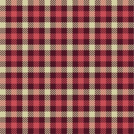 Tartan pattern Vector