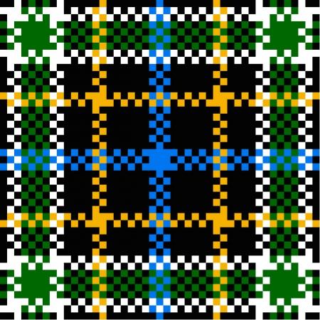 Seamless plaid pattern Stock Vector - 14742854