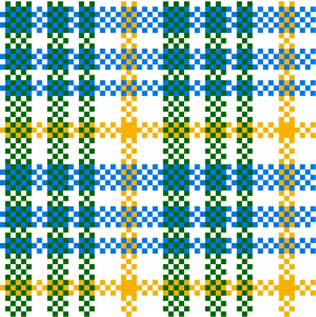 Seamless plaid pattern Vector