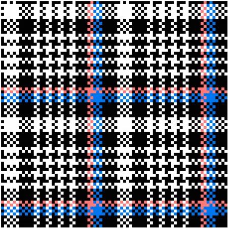 シームレスな格子縞のパターン  イラスト・ベクター素材