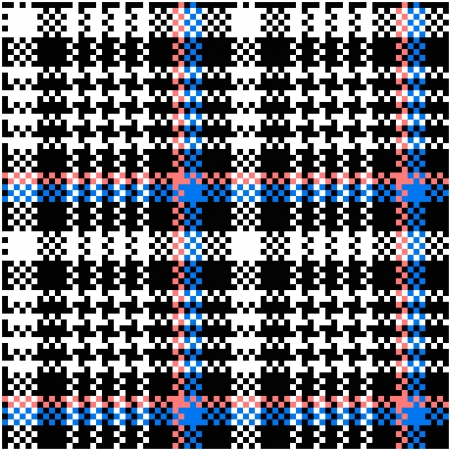 scottish: Seamless plaid pattern