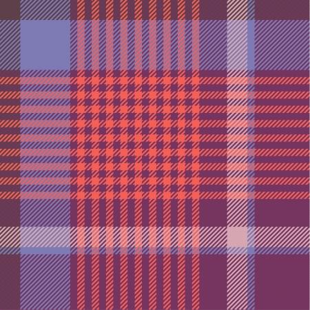 handkerchief: Tartan pattern
