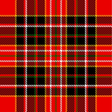 irish christmas: Tartan pattern