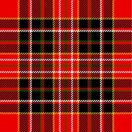 plaid: Tartan pattern