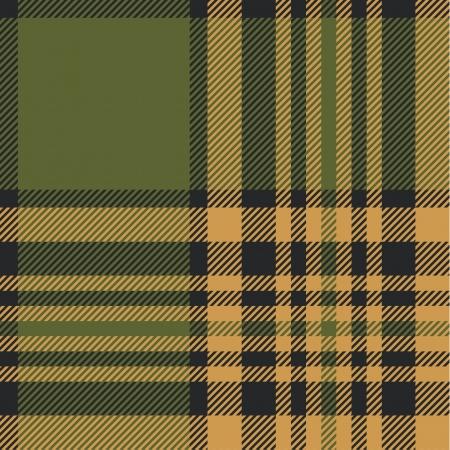 秋の色調でタータン パターン  イラスト・ベクター素材