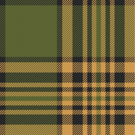 Tartan pattern in autumn tones