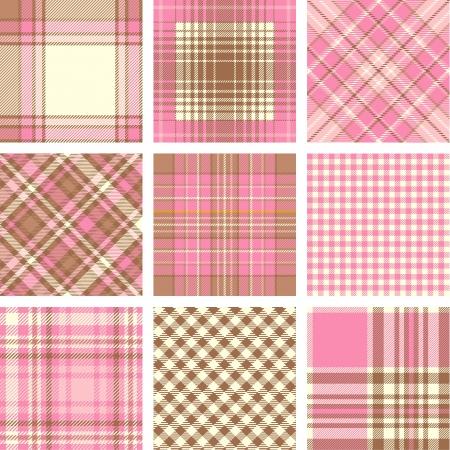 celtic design: Plaid patterns
