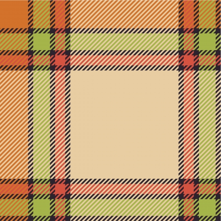 Bright tartan pattern Stock Vector - 15224232