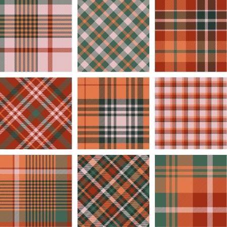 handkerchief: Plaid patterns