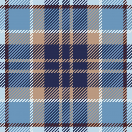 brown clothes: Tartan pattern