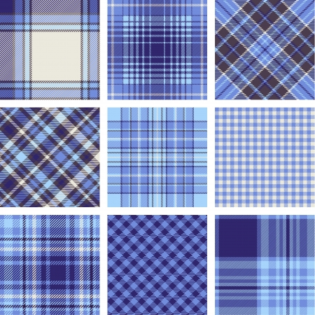 chequered backdrop: Plaid patterns