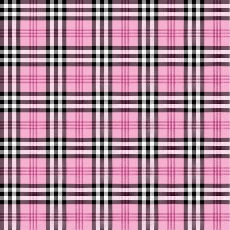 rosa negra: Seamless patr�n de tart�n Vectores