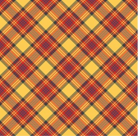 textile design: Seamless tartan pattern